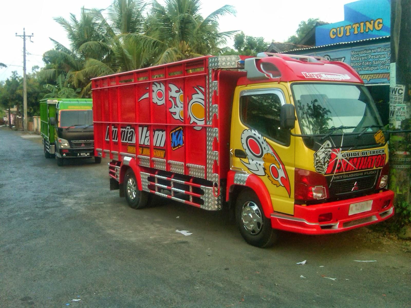 Kumpulan Foto Modifikasi Truk Indonesia Terbaru Modif Motor Mobil