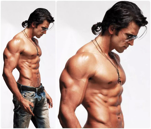 Hrithik Roshan Bad Boy Ponytail