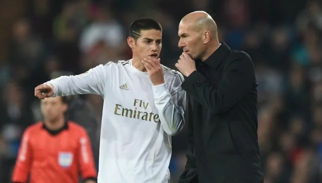 Juventus aim to join Real Madrid's James Rodriguez