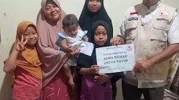 BFLF Aceh Barat Serahkan Donasi Kepada Keluarga Yatim di Meulaboh