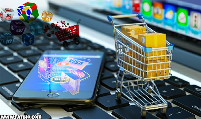 البيع على الإنترنت ، التجارة الإلكترونية ، بيع منتجات على الإنترنت