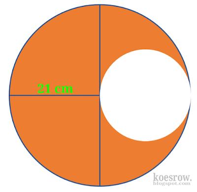 Contoh soal lingkaran gabungan