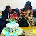 Ubi Franklin and Lilian Esoro reunite for their son's birthday