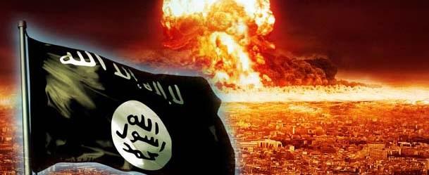 Flamur i ISIS dhe zjarr