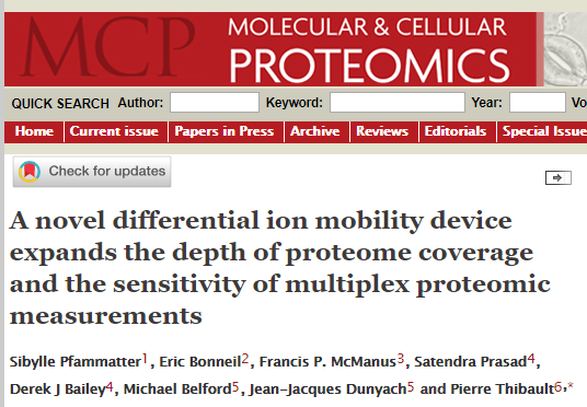 News in Proteomics Research: July 2018