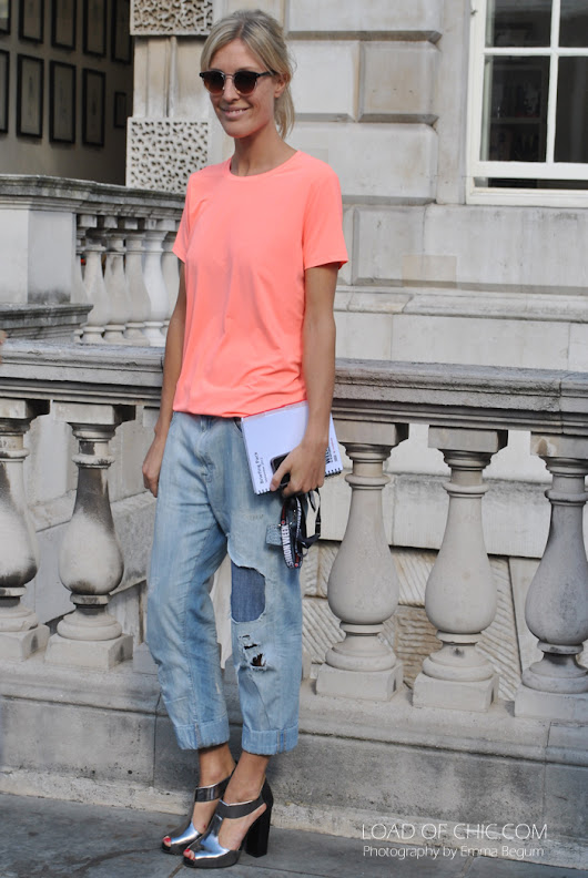 Load of Chic: Street Style Moment: Good Jeans