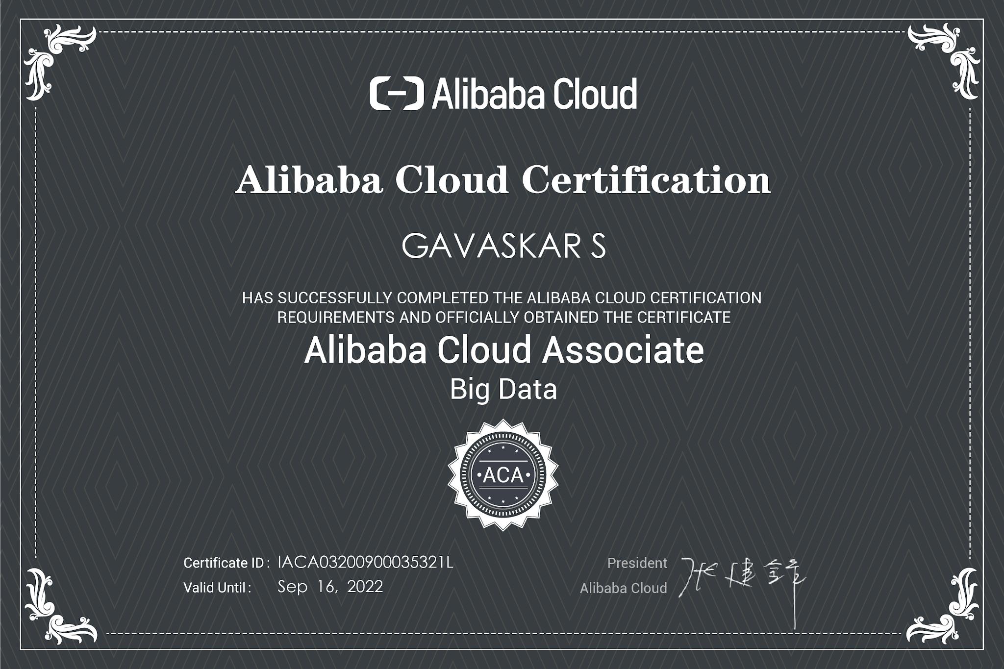 aca certification