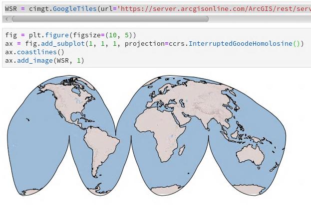 Brian Blaylock's Python Blog: Add an ArcGIS Map Service