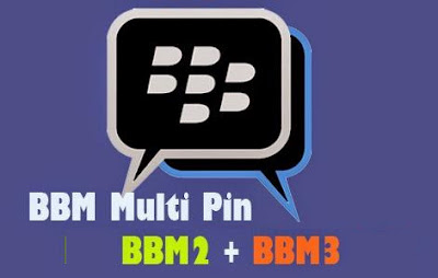 Download BBM+BBM2+BBM3 Multi Versi 2.13.0.22.