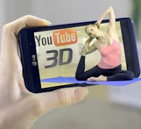LG Optimus Features Mobile Phone to YouTube 3D Video