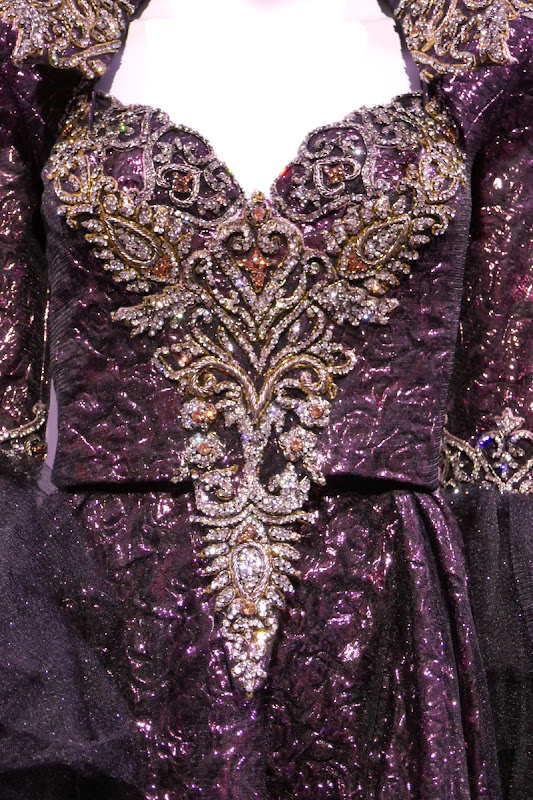 Once Upon a Time Evil Queen costume detail