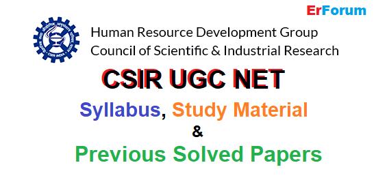 csir-ugc-net-papers-notes