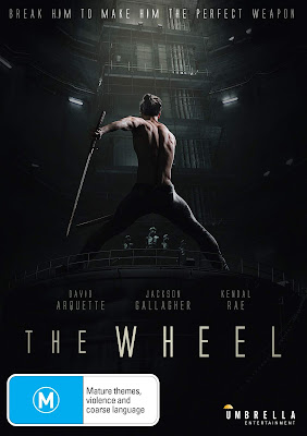 Cover art for Umbrella Entertainment's DVD release of THE WHEEL!