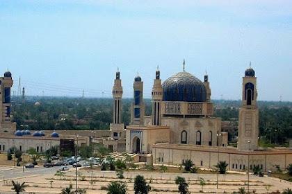 Melihat Masjid Saddam Hussein Terakhir yang Belum Selesai