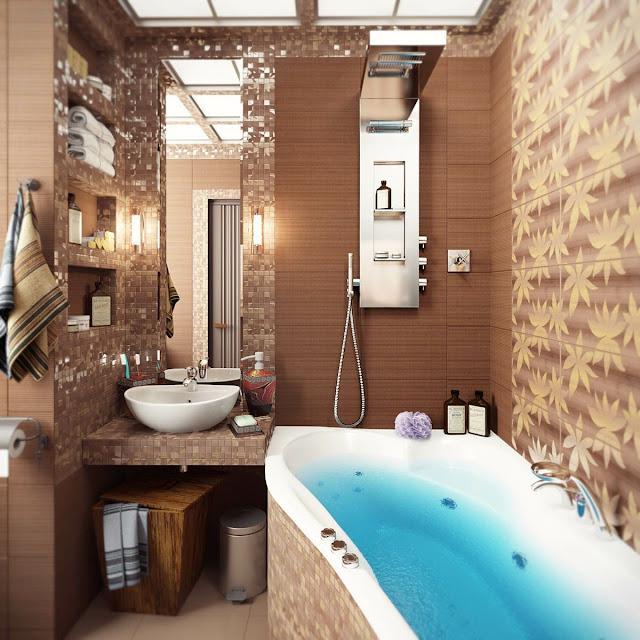 Interior Design Of Bathroom Tiles
