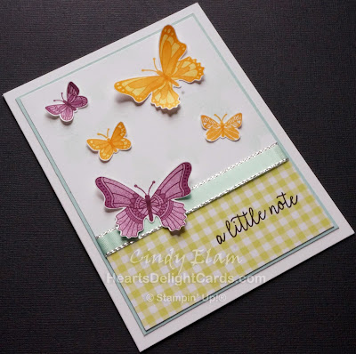 Heart's Delight Cards, Butterfly Gala, Butterflies, Occasions 2019, All Occasion, Stampin' Up!