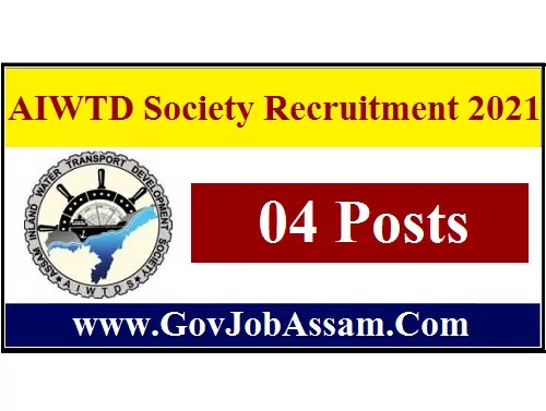 AIWTD Society Recruitment 2021 :: Apply For 4 Assistant & Junior Engineer Vacancy