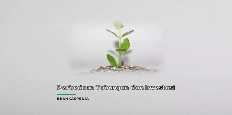 perbedaan tabungan dan investasi