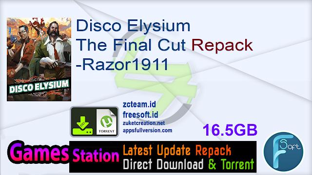 Disco Elysium The Final Cut Repack-Razor1911