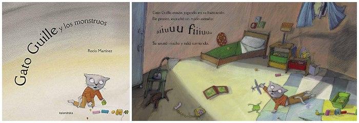 libro infantil miedos niños