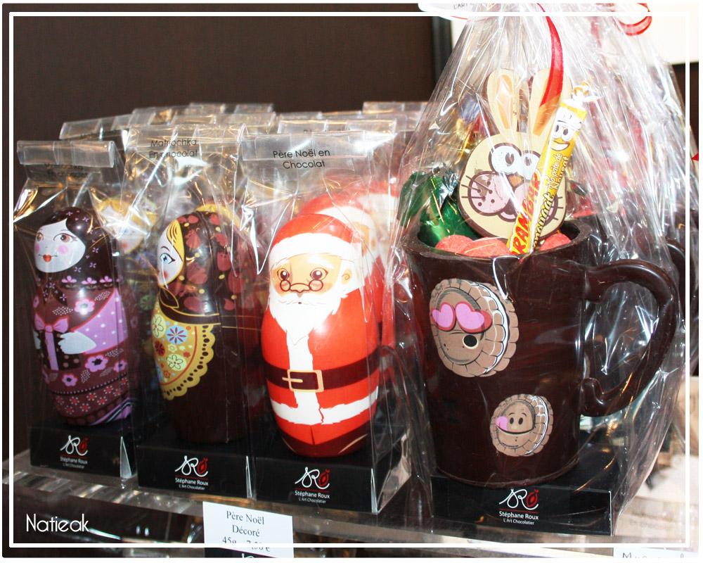 chocolat de Noël Stéphane Roux