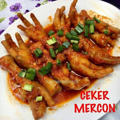 Resep Ceker Mercon By @rara.rnp