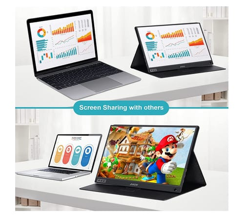 AWOW 15.8 inch IPS FHD Portable Gaming Monitor