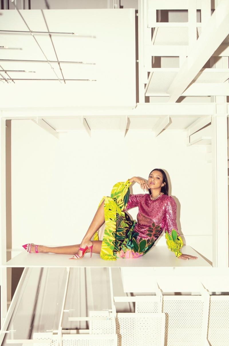 Lais Ribeiro Ocean Drive 2020 Cover Fashion Editorial