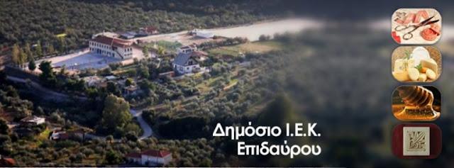 Δημόσιο ΙΕΚ Επιδαύρου - Η ευκαιρία για μόνιμη επαγγελματική αποκατάσταση