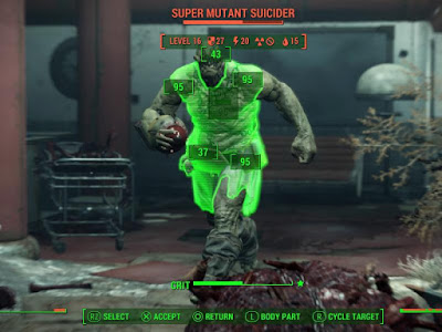 Epic Gameplay Fallout 4 with VATS Look Mode