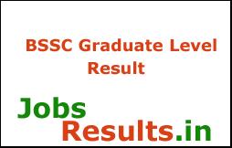 BSSC Graduate Level Result 2018
