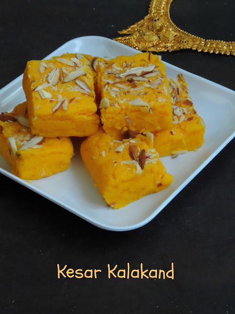 Kesar Kalakand, Saffron Kalakand