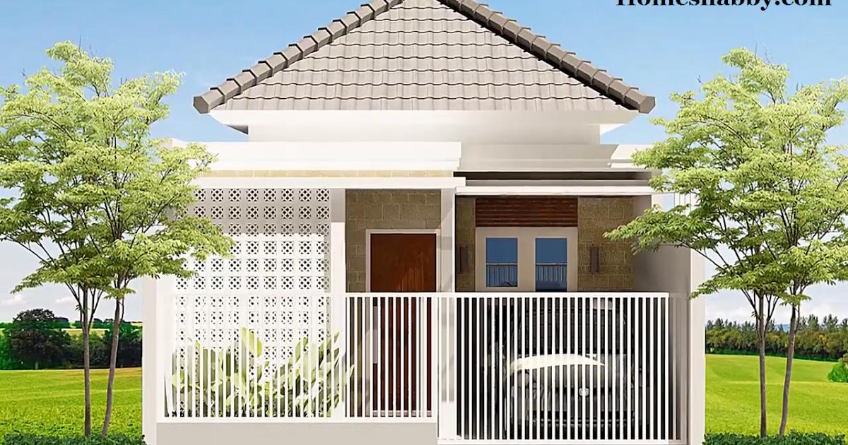 Desain dan Denah Rumah Minimalis Ukuran 6 x 12 m Dengan 3 ...