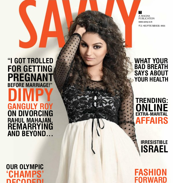 Savvy  magazine: Savvy is an Indian monthly Fashion magazine published in English.