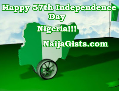 happy 57th independence day nigeria