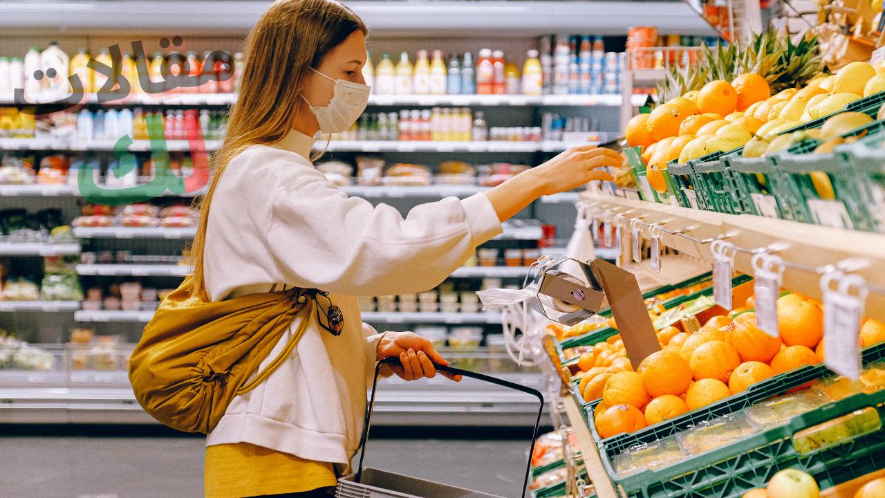 الأكل والتسوق الصحي