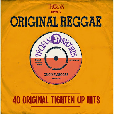 TROJAN PRESENTS ORIGINAL REGGAE - 40 Original Tighten Up Hits