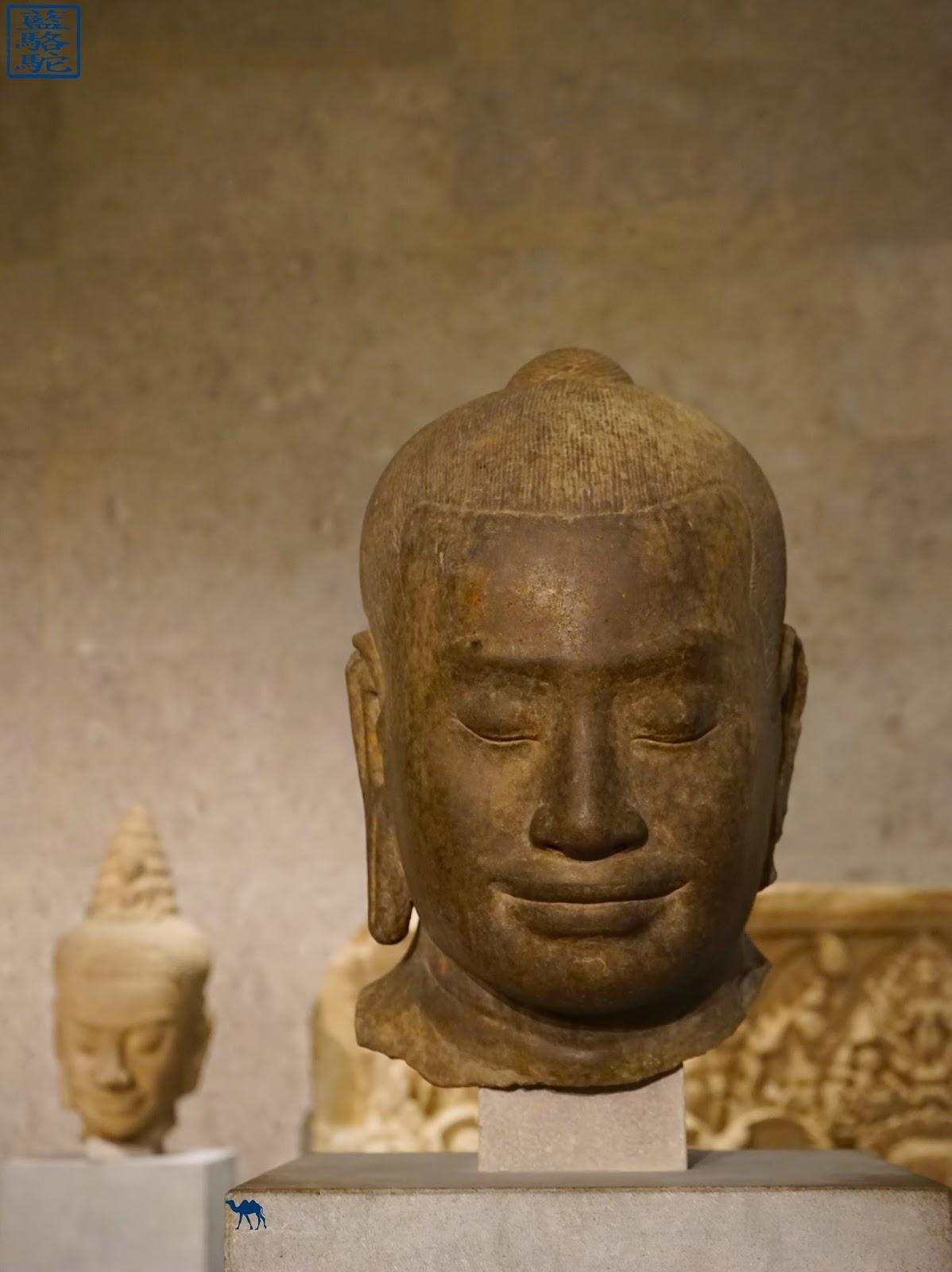Le Chameau Bleu - Musée Guimet  - Bouddha
