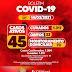 Jaguarari registra 04 novos casos de Covid-19 no Boletim deste domingo (14); nove pessoas estão internadas