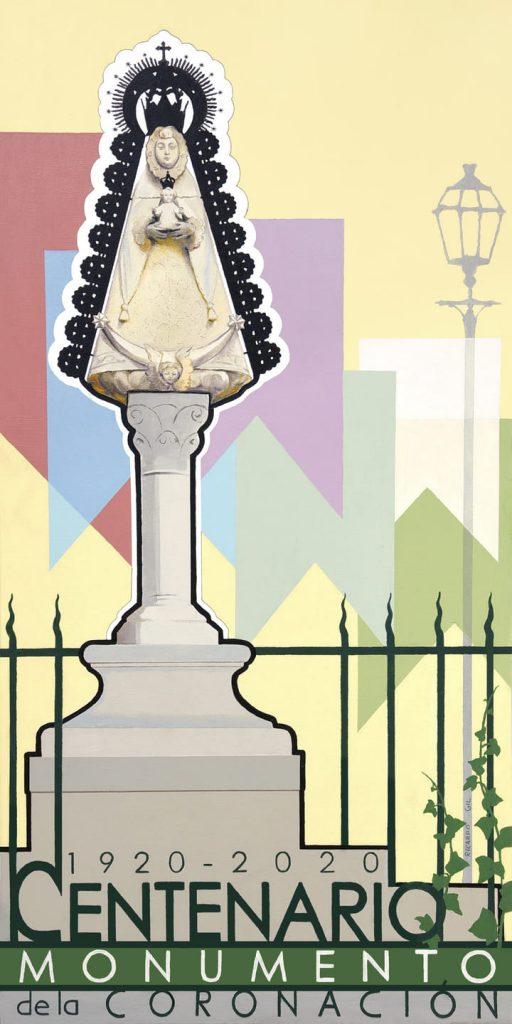 100 años de la bendición del monumento de la Coronación de la Virgen del Rocío de José Ordóñez