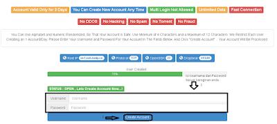 Mengisi Username Dan Pasword SSH