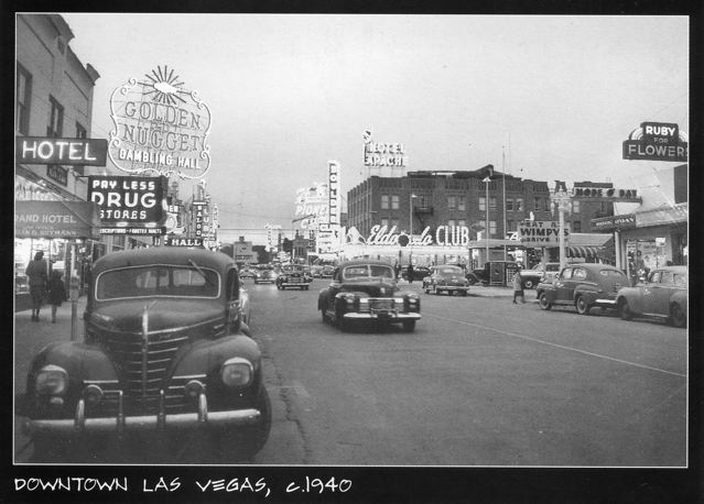 3 October 1940 worldwartwo.filminspector.com Las Vegas Fremont Street