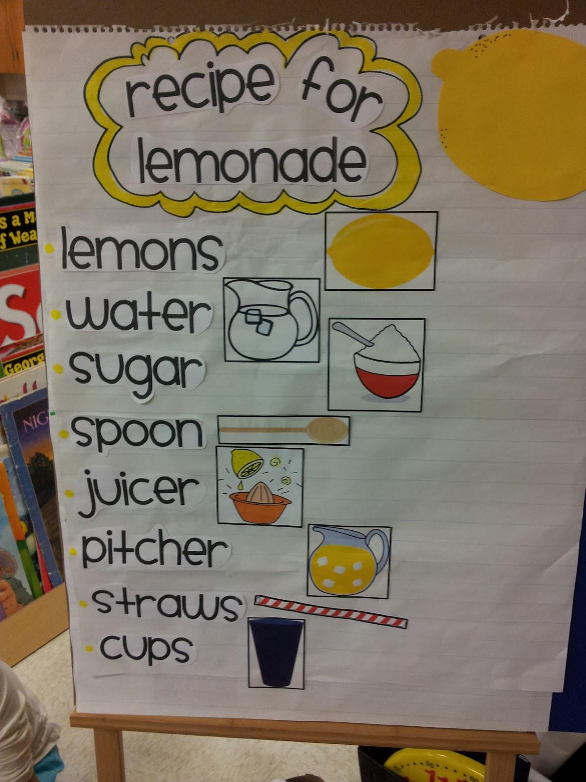 Chalk Talk A Kindergarten Blog A Little Sour Fun
