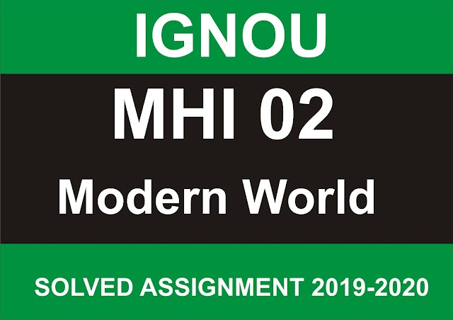 MHI 02 Solved Assignment