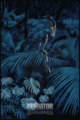New York Comic Con 2018 Exclusive Predator Movie Poster Screen Print by Raid71 x Grey Matter Art