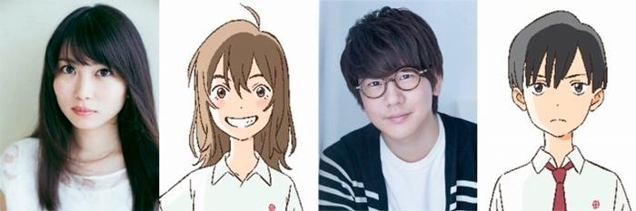Nakitai Watashi wa Neko wo Kaburu (NakiNeko) anime - personajes