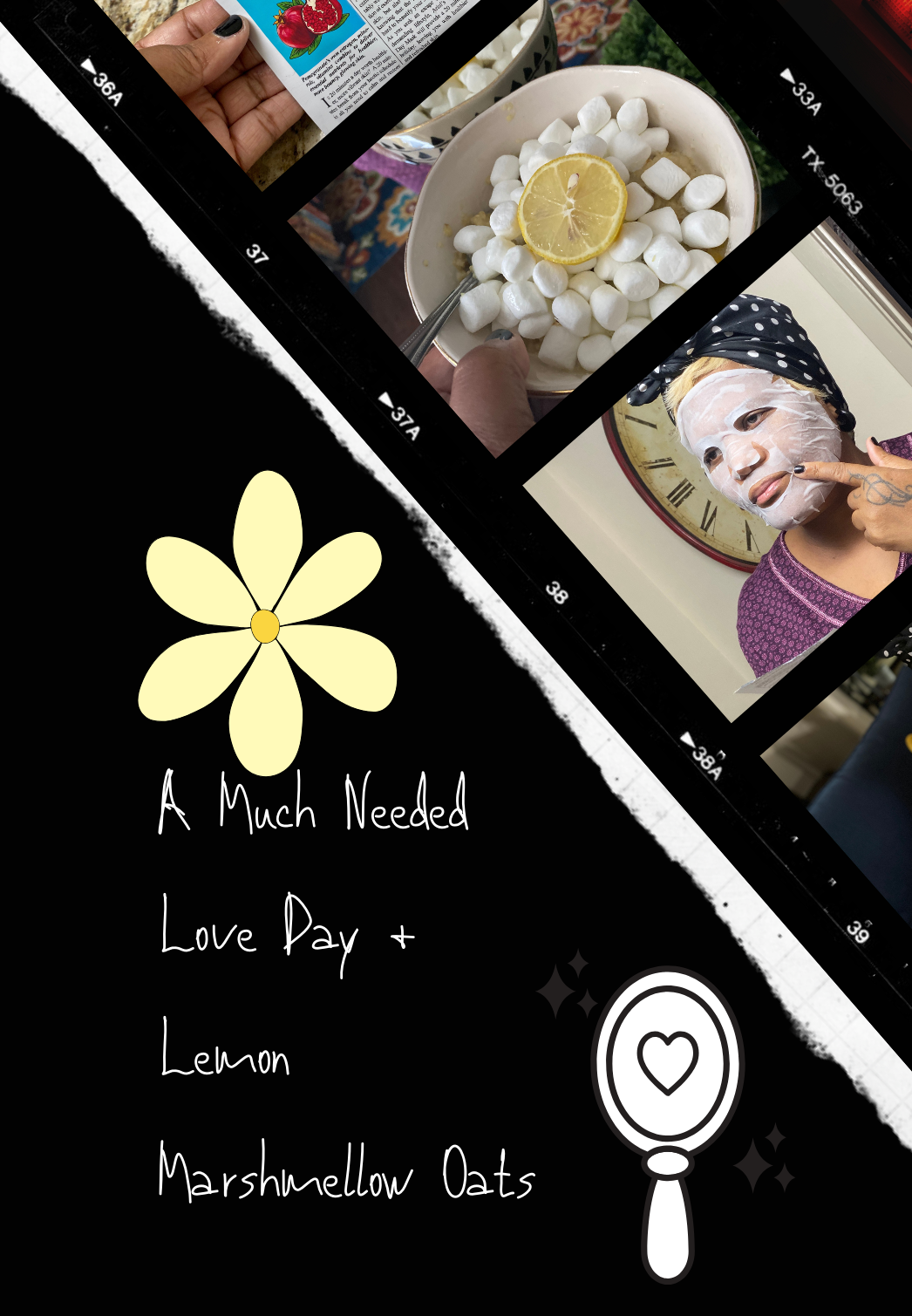 A Much Needed Love Day + Lemon Marshmellow Oats Recipe