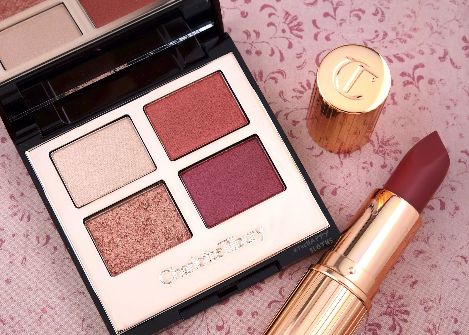 """Charlotte Tilbury   *NEW* Luxury Palette & Matte Revolution Lipstick in """"Walk of Shame"""": Review and Swatches"""