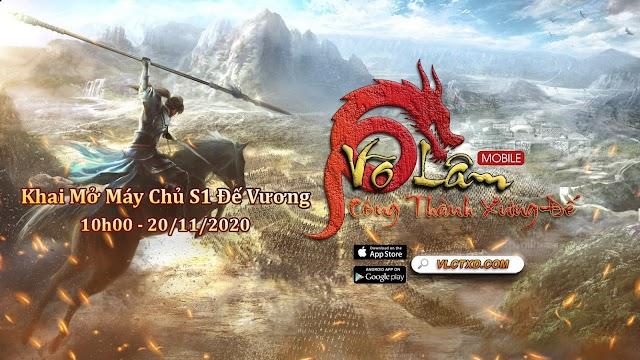 Review Game Võ Lâm Công Thành Xưng Đế mobile chuẩn cày cuốc, đề cao tính năng Bang Hội
