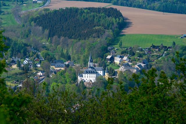 Kammweg Erzgebirge  Etappe 3+4 von Sayda nach Olbernhau  Wandern in Sachsen 12